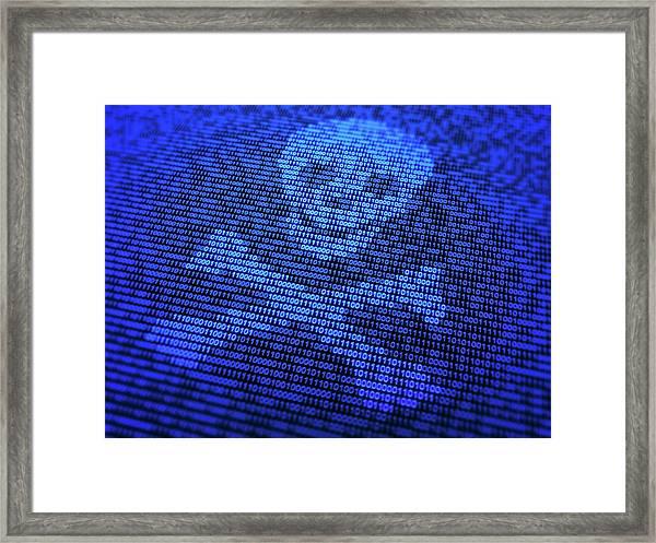 Malware Framed Print