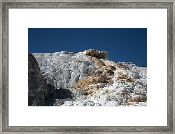 Mammoth Hot Springs 2 Framed Print