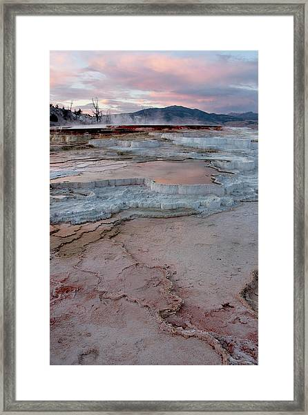 Mammoth Sunset Framed Print