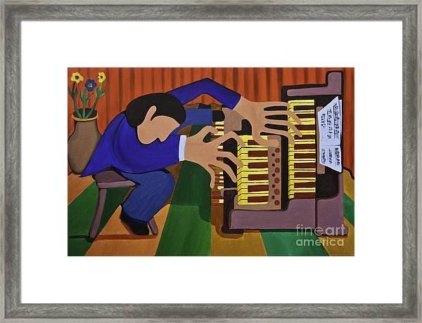 The Organist Framed Print