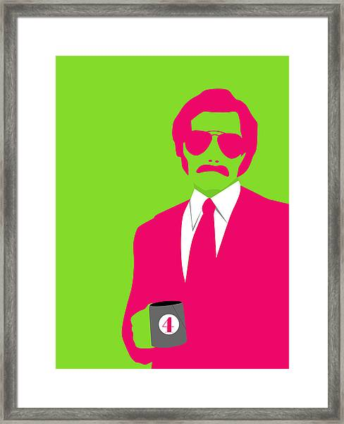 Man Poster Framed Print