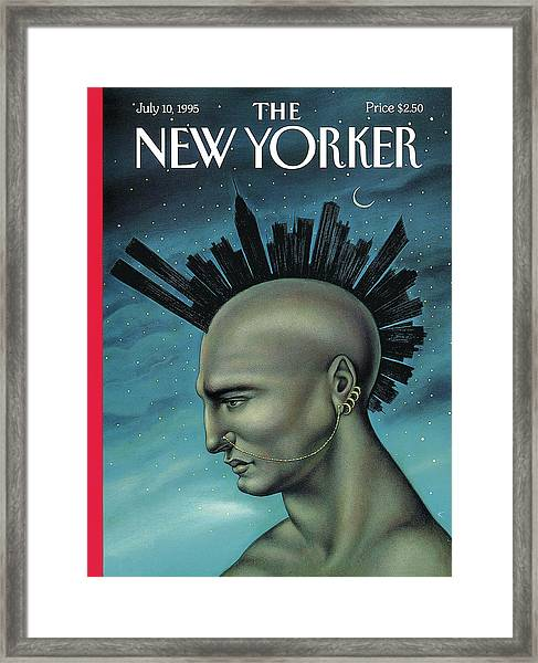 Mohawk Manhattan Framed Print