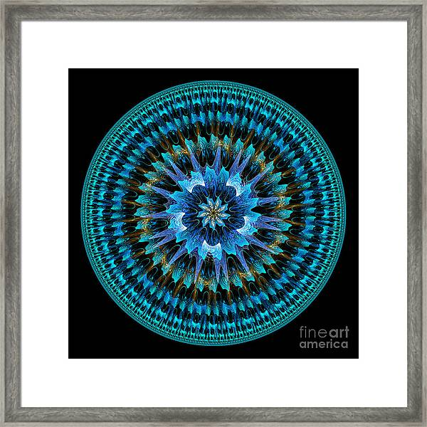 Mandala Of Peace Framed Print