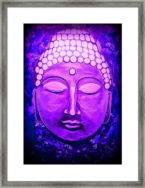 Mandi's Buddha Framed Print