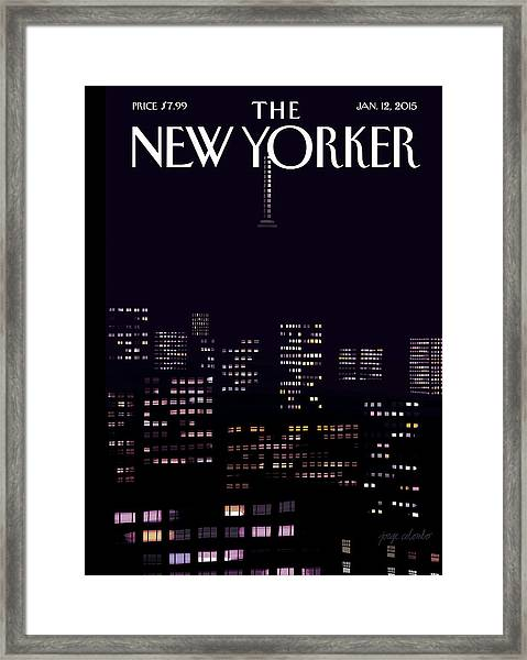 Limited Visibility Framed Print by Jorge Colombo
