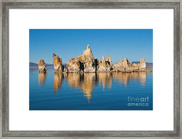 Framed Print featuring the photograph Mono Lake Tufa by Mae Wertz