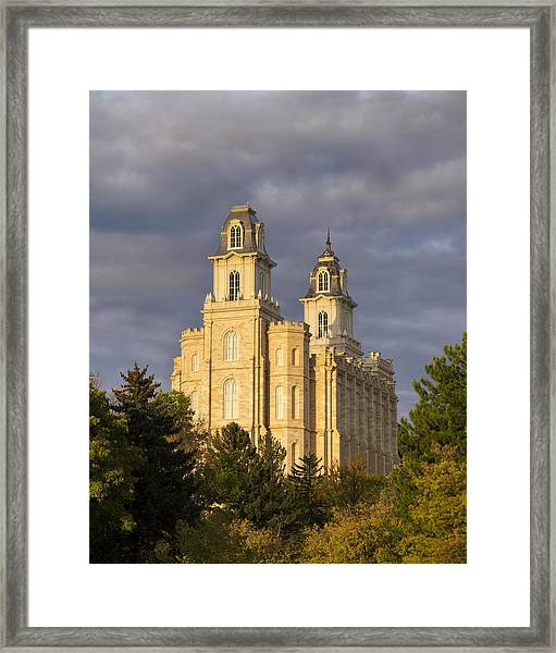 Framed Print featuring the photograph Manti by Dustin  LeFevre
