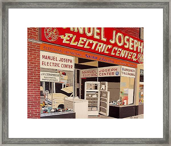 Manuel Joseph Framed Print by Paul Guyer