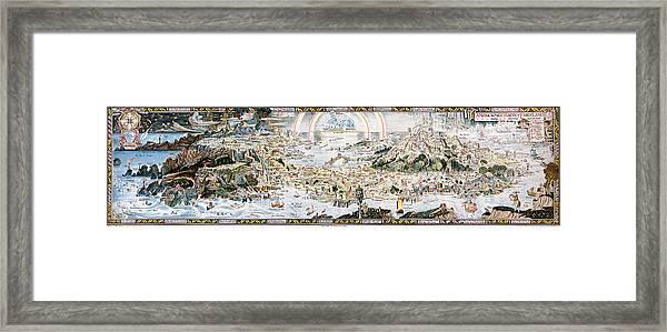Map Fairyland, C1920 Framed Print