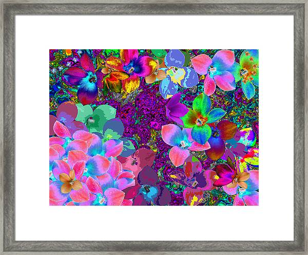 Map Of Your Soul 1 Framed Print