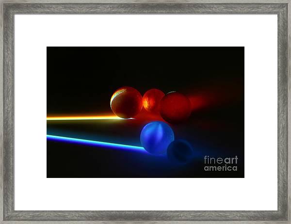 Marble-1 Framed Print by Tad Kanazaki