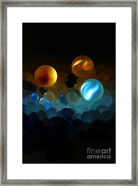 Marble-2 Framed Print by Tad Kanazaki
