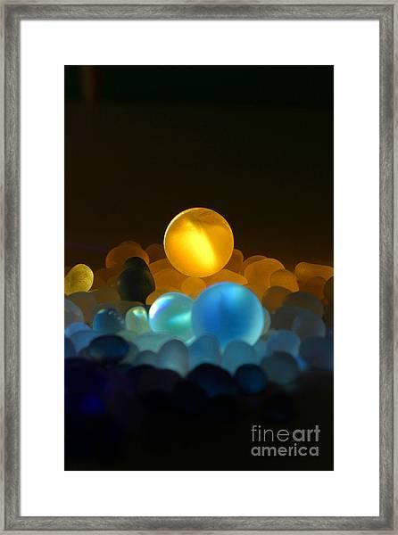 Marble-3 Framed Print by Tad Kanazaki