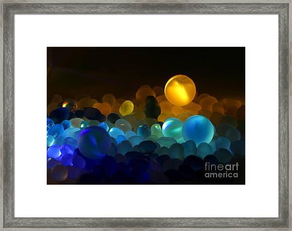 Marble-4 Framed Print by Tad Kanazaki