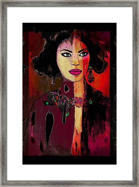Marcella Framed Print