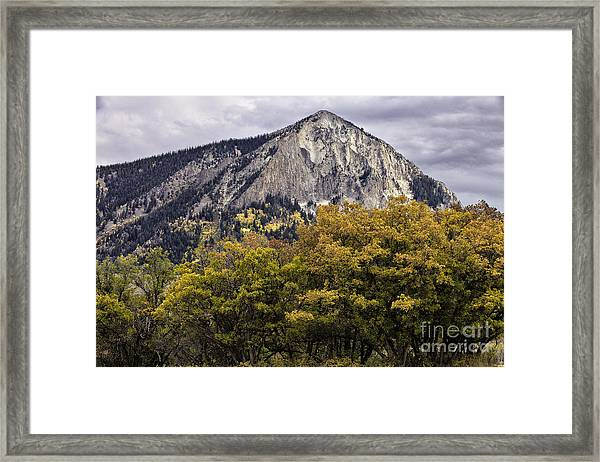 Marcellina Mountain Framed Print