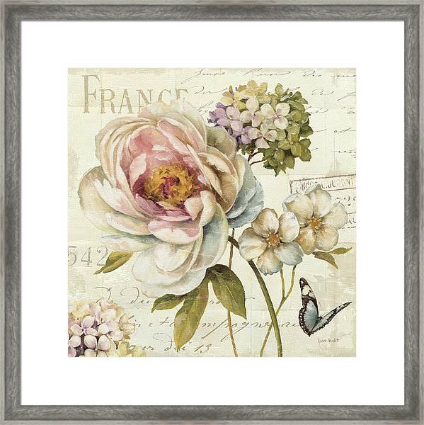 Marche De Fleurs IIi Framed Print