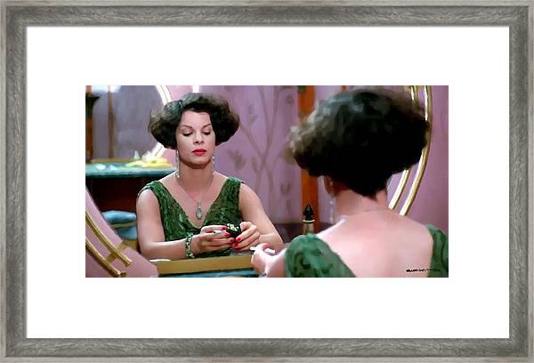 Marcia Gay Harden As Verna Bernbaum In The Film Miller S Crossing By Joel And Ethan Coen Framed Print