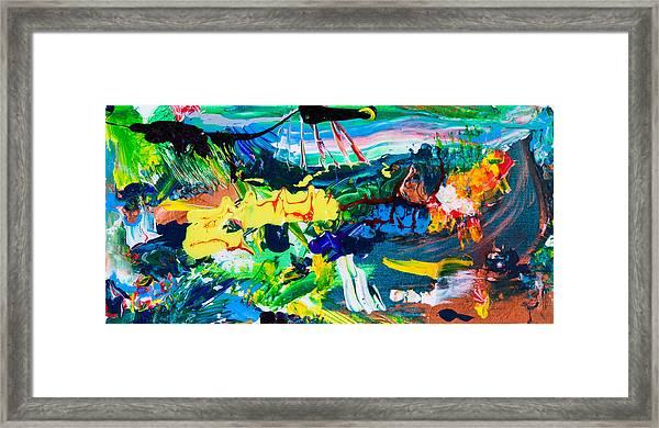 Marcian Annex Landscape  Framed Print