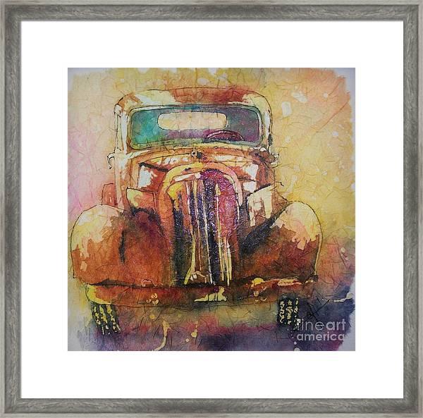 Marcias Truck Framed Print