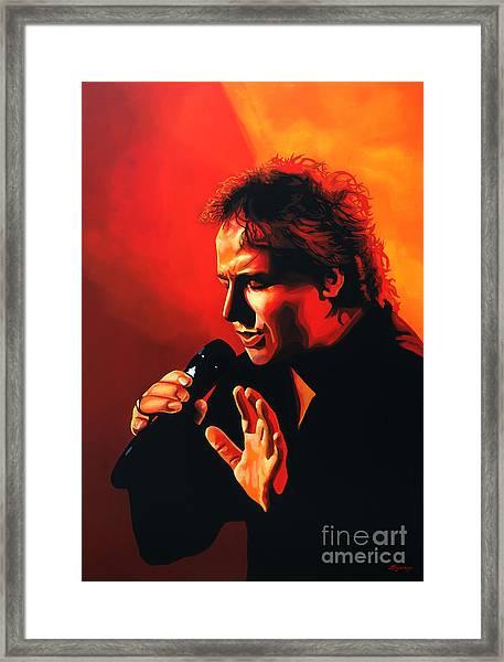 Marco Borsato Framed Print