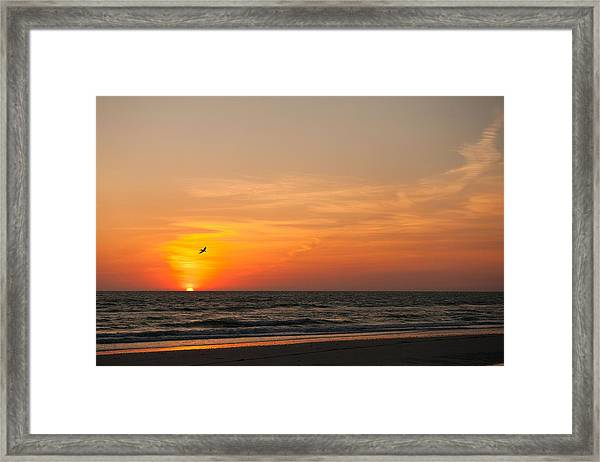 Marco Sunset Framed Print