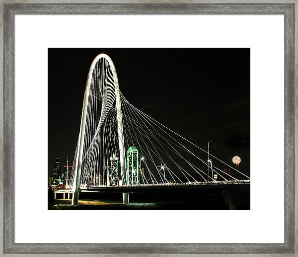 Margaret Hunt Hill Bridge Framed Print