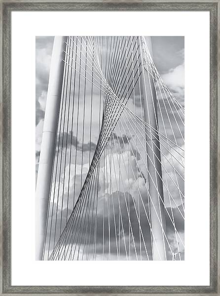 Margaret Hunt Hill Bridge Framed Print