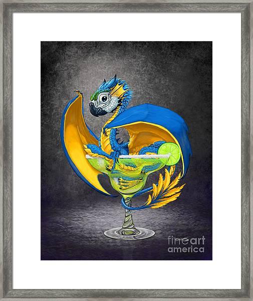 Margarita Dragon Framed Print