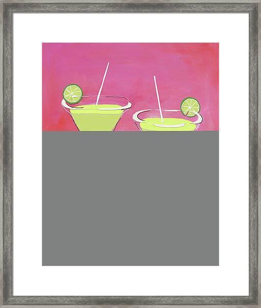 Margaritas Framed Print