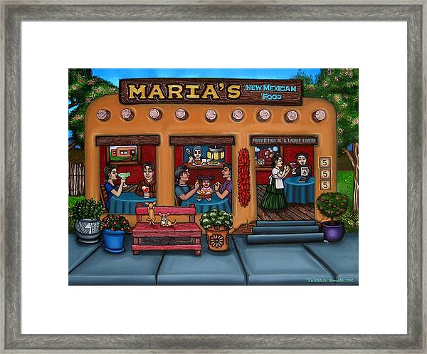 Maria's New Mexican Restaurant Framed Print