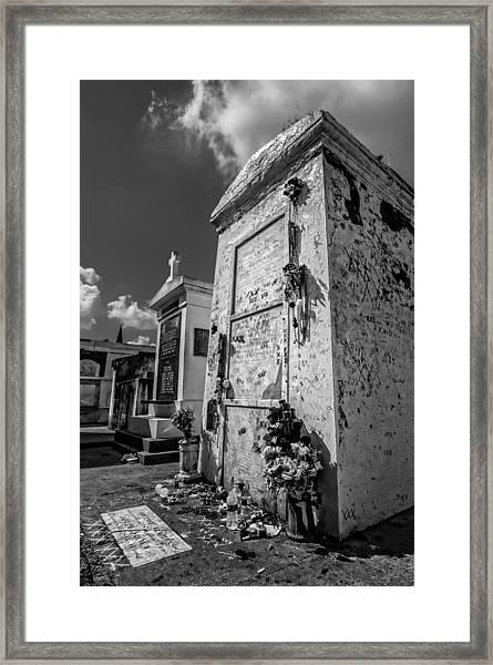 Marie Laveau's Tomb 2 Framed Print
