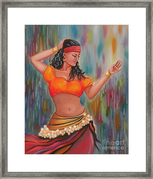 Marika The Gypsy Dancer Framed Print