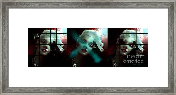 Marilyn 128 Tryp  Framed Print