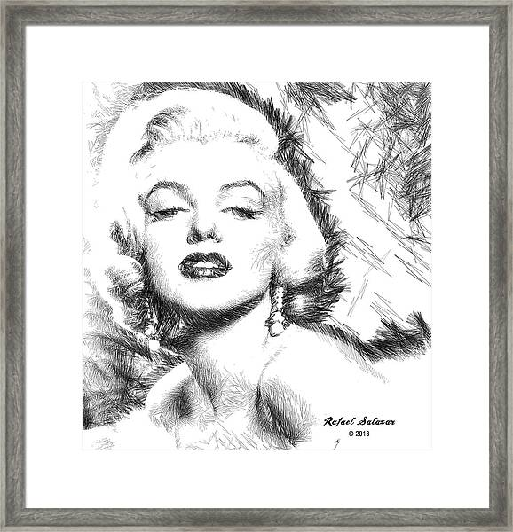 Marilyn Monroe - The One And Only  Framed Print