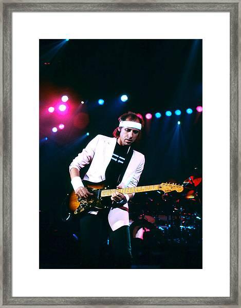 Mark Knopfler I Framed Print