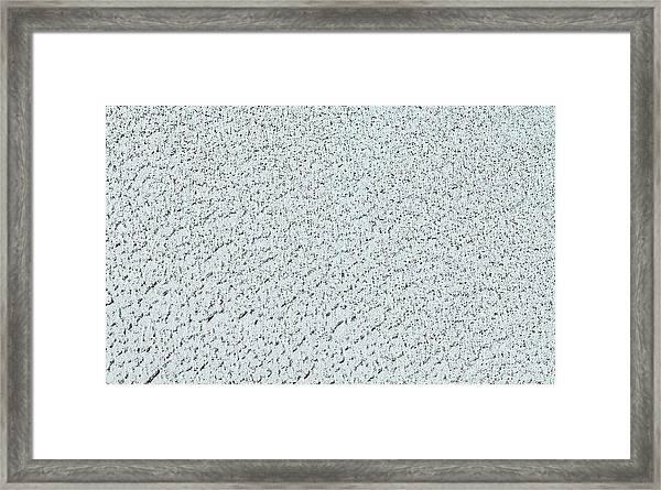 Mars' North Polar Cap Framed Print