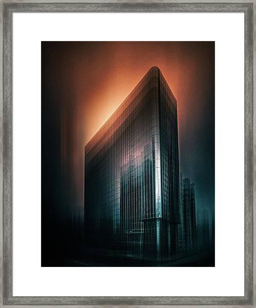 Mars Sky Framed Print