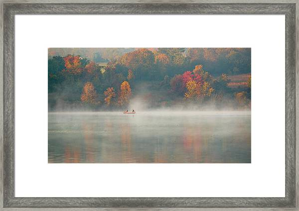 Marsh Creek Pa Framed Print
