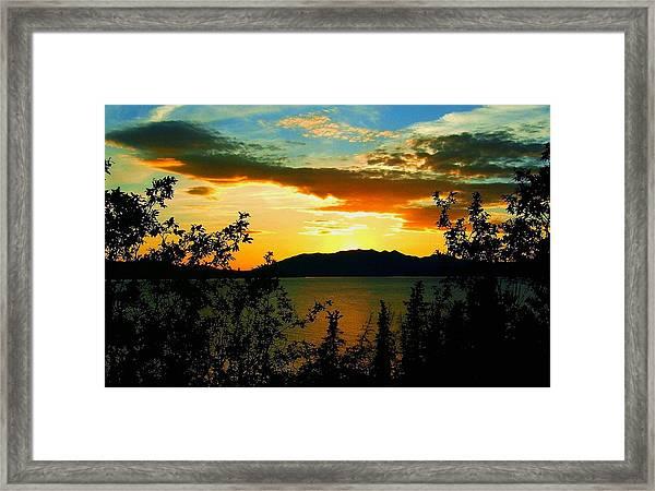 Marsh Lake - Yukon Framed Print