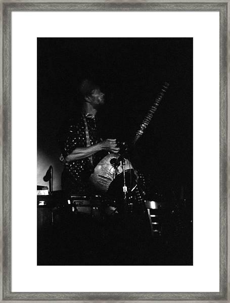 Marshall Allen Plays Strings  Framed Print