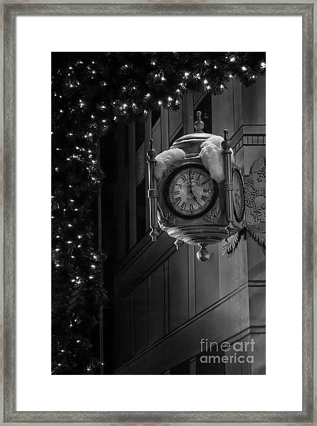 Marshall Field Christmas Framed Print