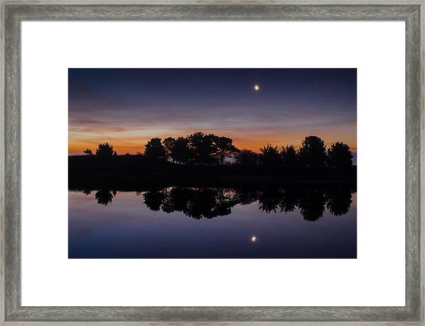 Martha's Vineyard Dawn Framed Print