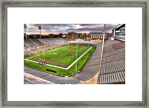 Martin Stadium At Washington State Framed Print