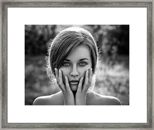 Mary Framed Print by Alex Malikov
