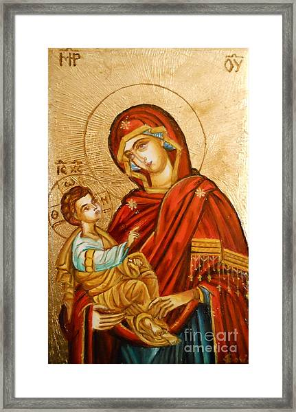 Mary With Jessus R.1 Framed Print
