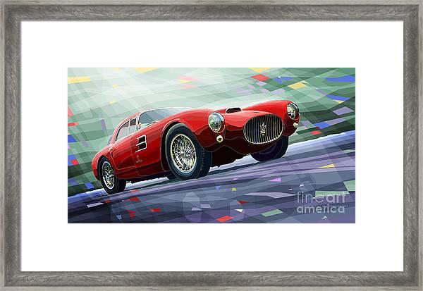 Maserati A6gcs Berlinetta By Pininfarina 1954 Framed Print