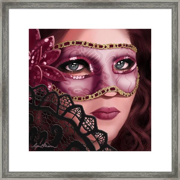Masked II Framed Print
