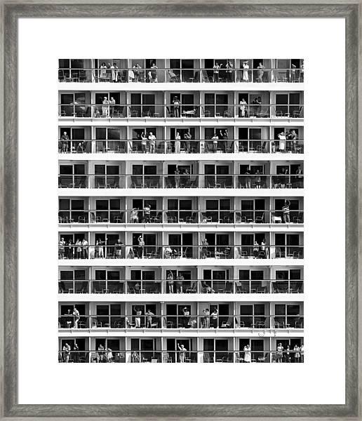 Mass Tourism Framed Print