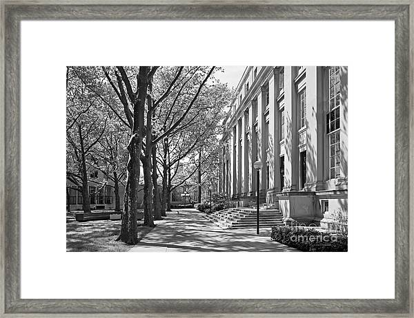 Massachusetts Institute Of Technology Eastman Labs Framed Print